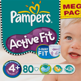 Bon de reduction Pampers Pampers Active Fit